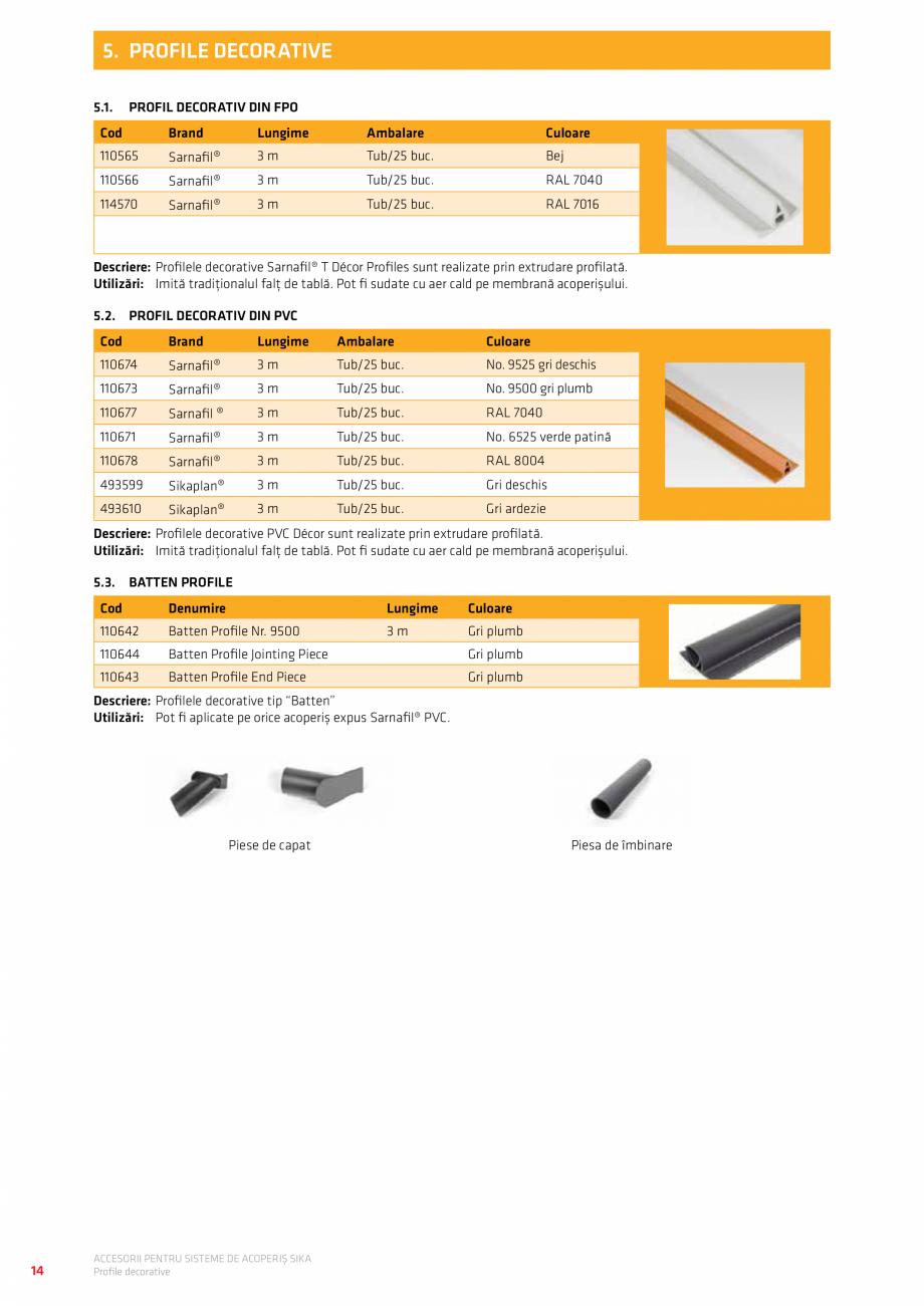 Pagina 18 - Accesorii pentru sisteme de acoperis  Catalog, brosura Romana...