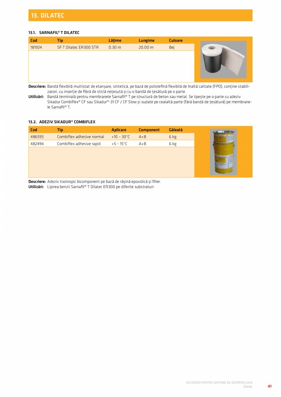 Pagina 45 - Accesorii pentru sisteme de acoperis  Catalog, brosura Romana No. 9525 gri deschis  400 ...