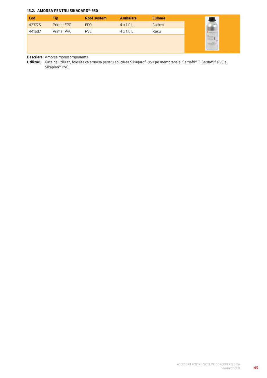 Pagina 49 - Accesorii pentru sisteme de acoperis  Catalog, brosura Romana escriere:S-Point flashing...