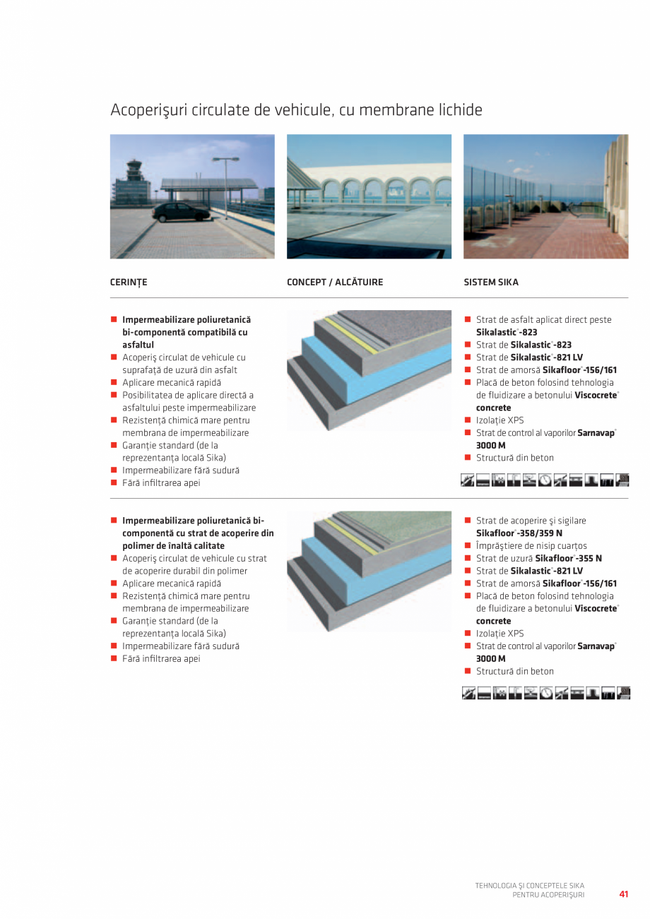 Pagina 41 - Tehnologia si conceptele SIKA pentru acoperisuri  Catalog, brosura Romana  Fleece 120...