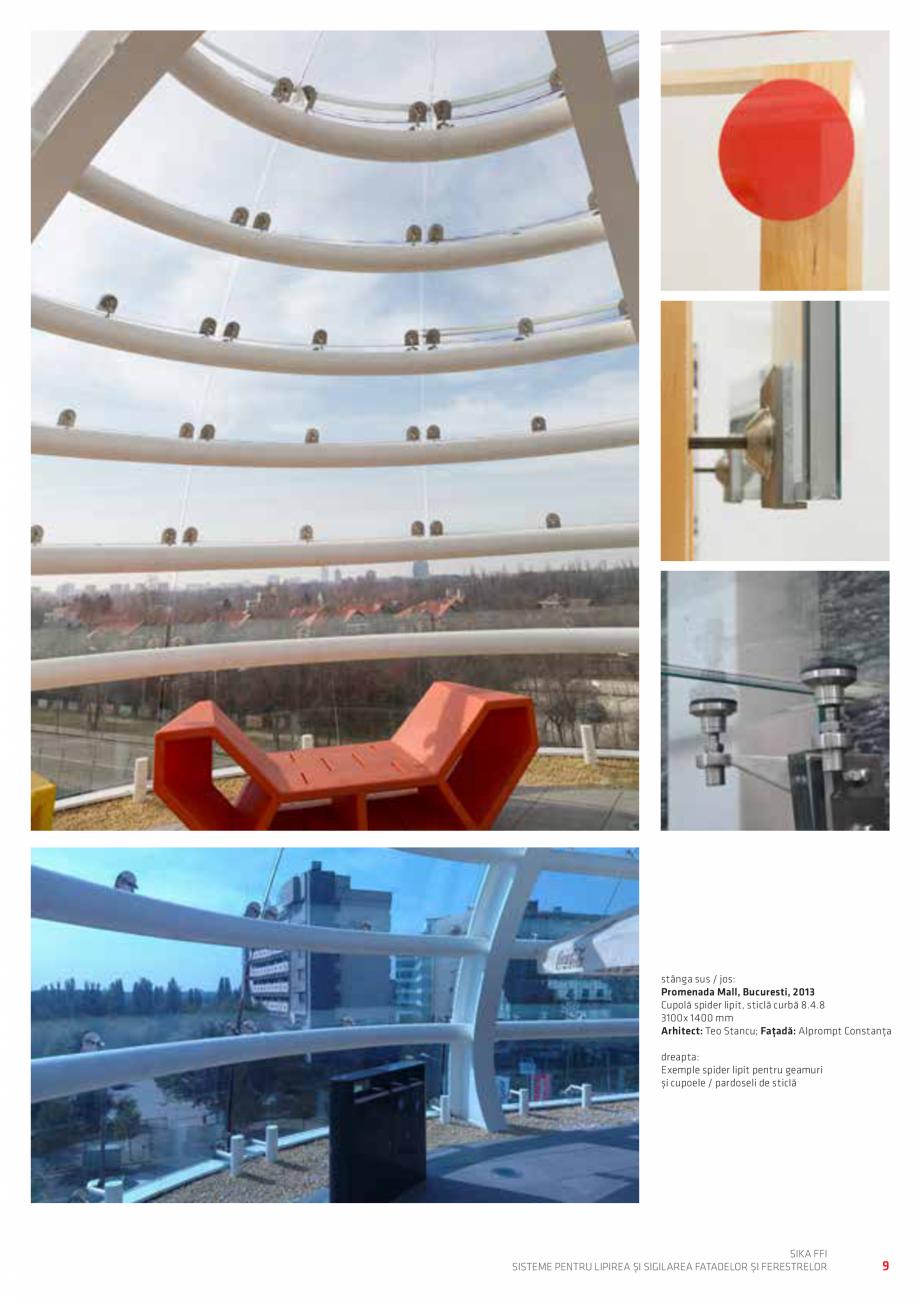 Pagina 9 - Sisteme pentru lipirea si sigilarea fatadelor si ferestrelor  Catalog, brosura Romana ce ...