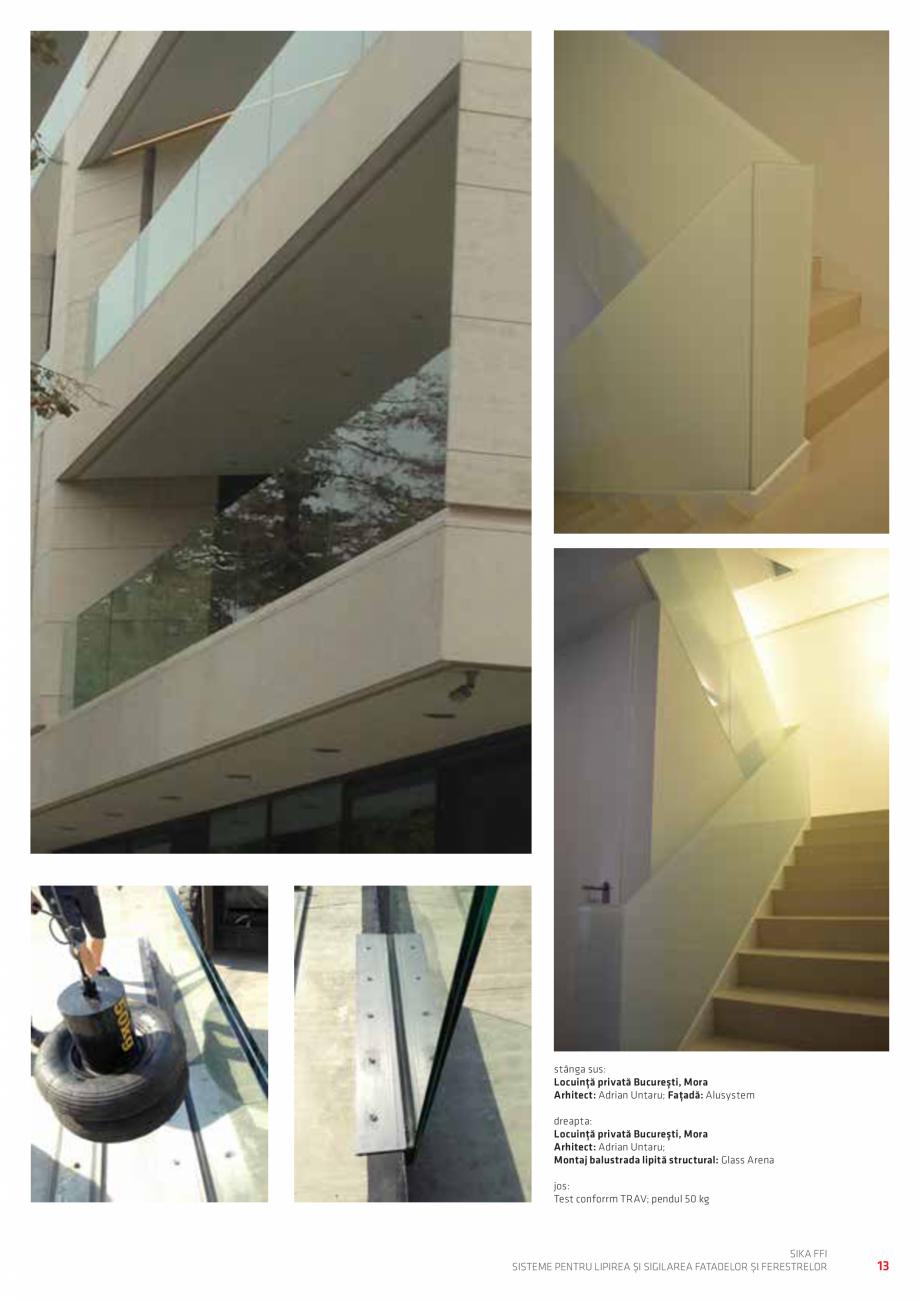 Pagina 13 - Sisteme pentru lipirea si sigilarea fatadelor si ferestrelor  Catalog, brosura Romana...