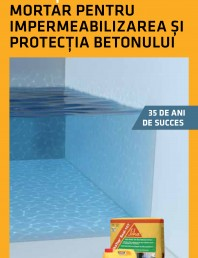 Mortar pentru impermeabilizarea si protectia betonului