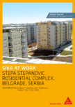 Sika at Work - Impermeabilizare Complex Rezidential Stepa Stepanovic  - Serbia SIKA - SikaTop®Seal-107