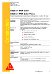 Acoperire poliuretanica bicomponenta pentru structuri din otel SIKA - SikaCor® PUR Color