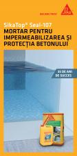 Mortar pentru impermeabilizarea si protectia betonului SIKA