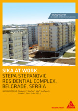Sika at Work - Impermeabilizare Complex Rezidential Stepa Stepanovic - Serbia SIKA