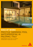Sika at Work - Piscina Prestige - Palermo, Italy SIKA - SikaTop®Seal-107