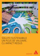 Pardoseli Sika - Solutii sustenabile un plus de valoare, impact redus SIKA
