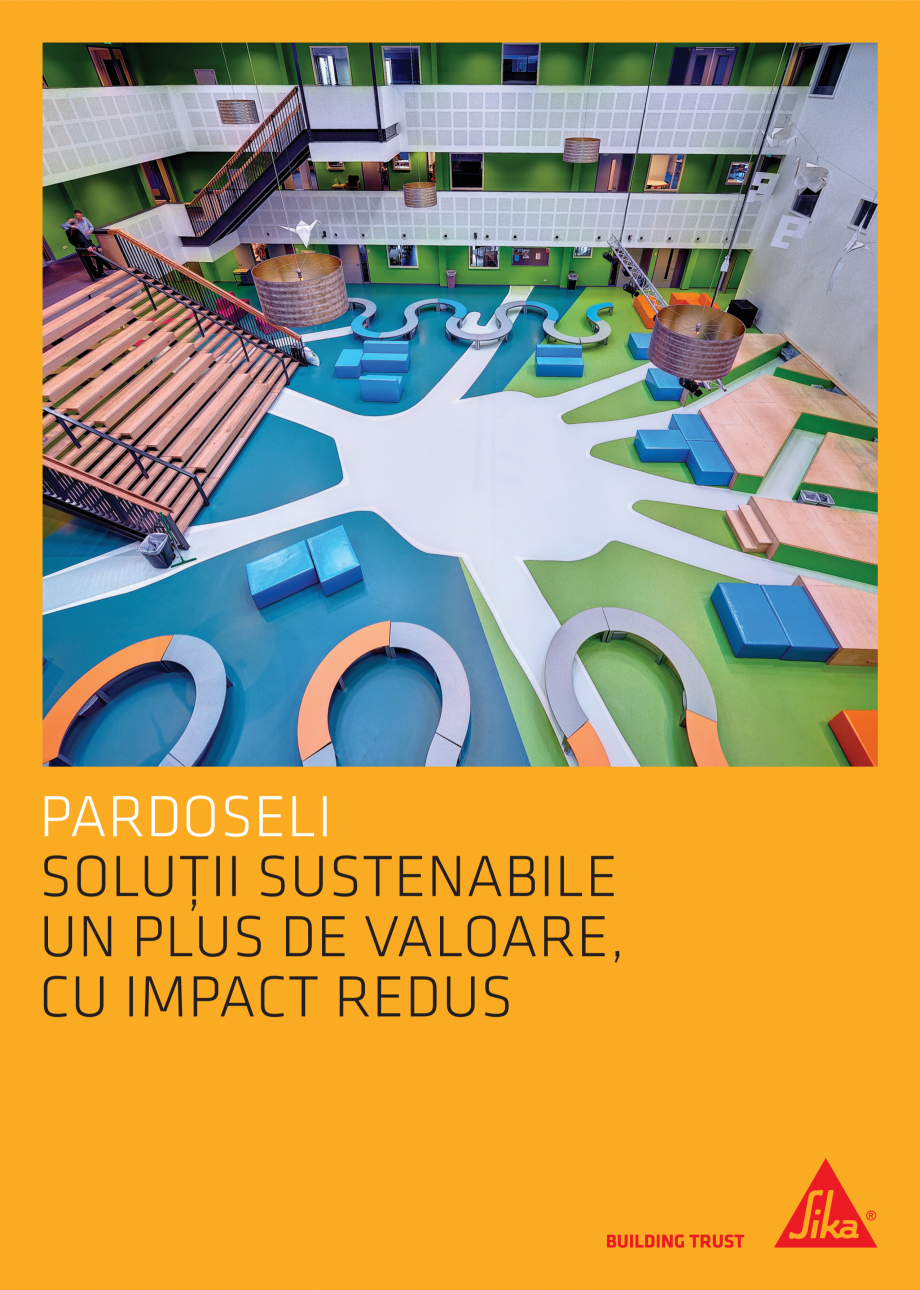 Pagina 1 - Pardoseli Sika - Solutii sustenabile un plus de valoare, impact redus SIKA Sikafloor®...