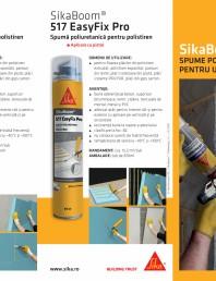 Spuma poliuretanica pentru fixarea, izolarea si umplerea rosturilor - SikaBoom