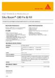 Spuma poliuretanica expandabila SIKA - Sika Boom®-180 Fix & Fill