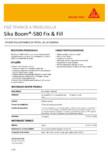 Spuma poliuretanica expandabila SIKA - Sika Boom®-580 Fix&Fill