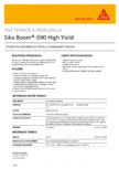 Spuma poliuretanica de pistol SIKA - Sika Boom®-590 High Yield