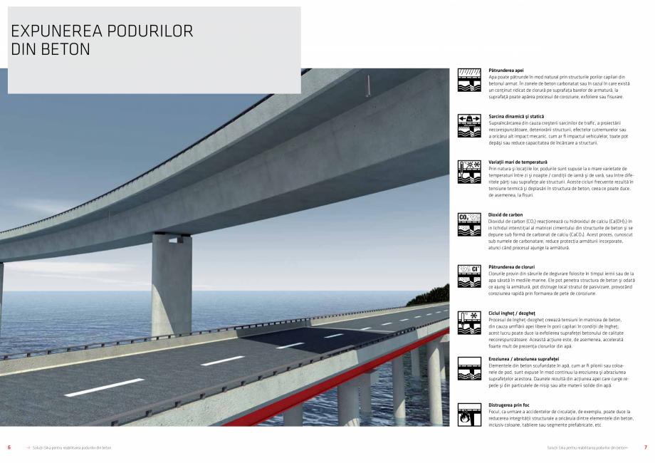 Pagina 4 - Solutii Sika pentru reabilitarea podurilor din beton SIKA Catalog, brosura Romana ,...