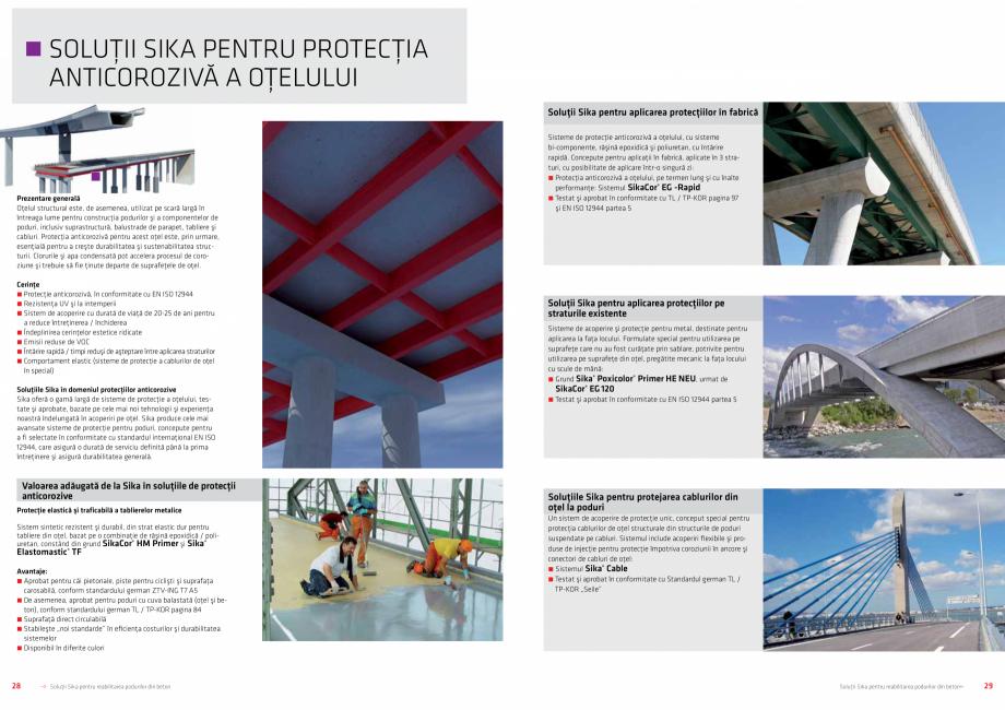 Pagina 15 - Solutii Sika pentru reabilitarea podurilor din beton SIKA Catalog, brosura Romana �rile ...