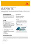 Sigilant poliuretanic monocomponent, autonivelant SIKA - Sikaflex® PRO-3 SL