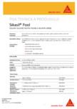 Sigilant siliconic pentru piscine si incaperi umede SIKA - Sikasil® Pool
