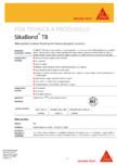 Hidroizolatie si adeziv flexibil pentru lipirea placajelor ceramice SIKA - SikaBond® T-8