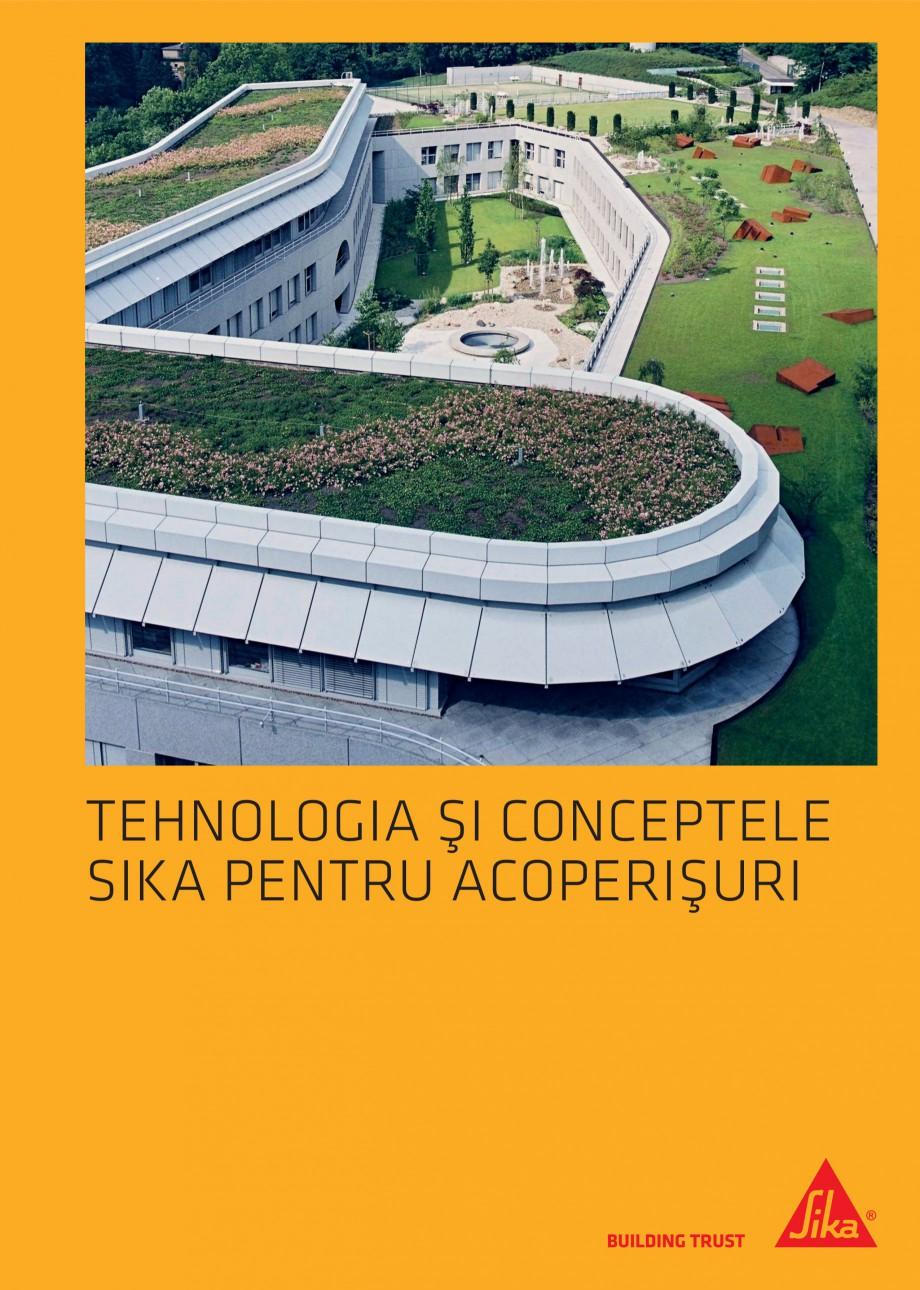 Pagina 1 - Tehnologia si conceptele Sika pentru acoperisuri SIKA Sarnafil® TG 66-18,...