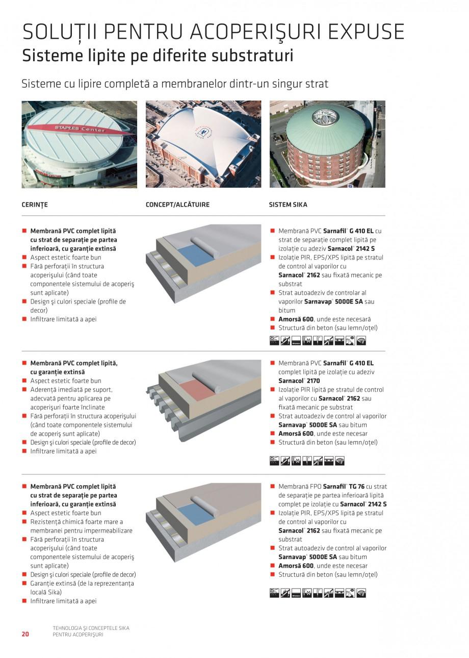 Pagina 2 - Tehnologia si conceptele Sika pentru acoperisuri SIKA Sarnafil® TG 66-18,...