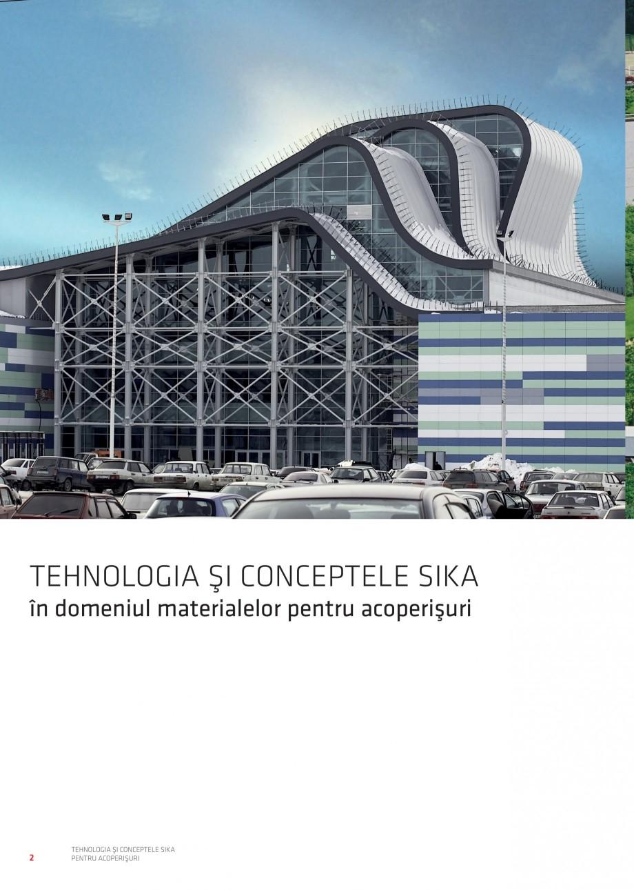 Pagina 3 - Tehnologia si conceptele Sika pentru acoperisuri SIKA Sarnafil® TG 66-18,...