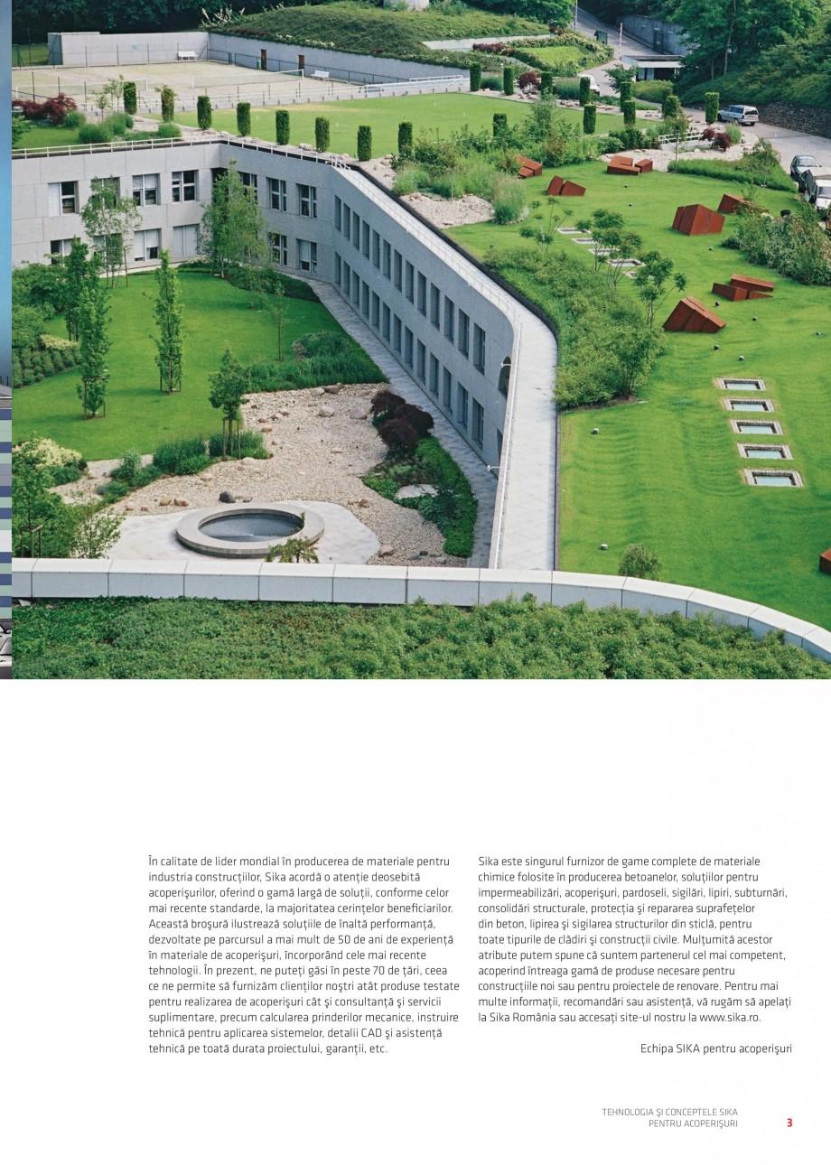 Pagina 4 - Tehnologia si conceptele Sika pentru acoperisuri SIKA Sarnafil® TG 66-18,...