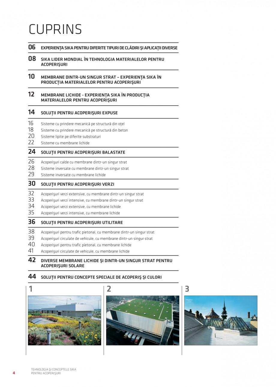 Pagina 5 - Tehnologia si conceptele Sika pentru acoperisuri SIKA Sarnafil® TG 66-18,...