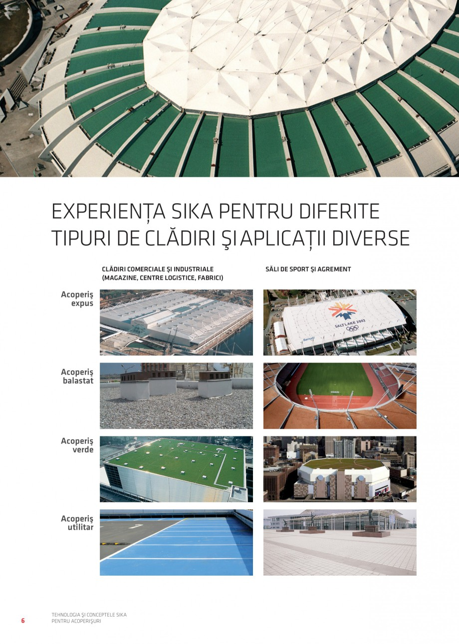 Pagina 7 - Tehnologia si conceptele Sika pentru acoperisuri SIKA Sarnafil® TG 66-18,...