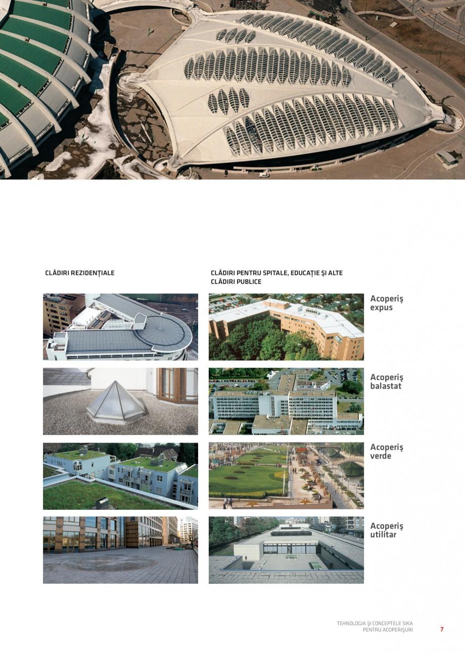 Pagina 8 - Tehnologia si conceptele Sika pentru acoperisuri SIKA Sarnafil® TG 66-18,...