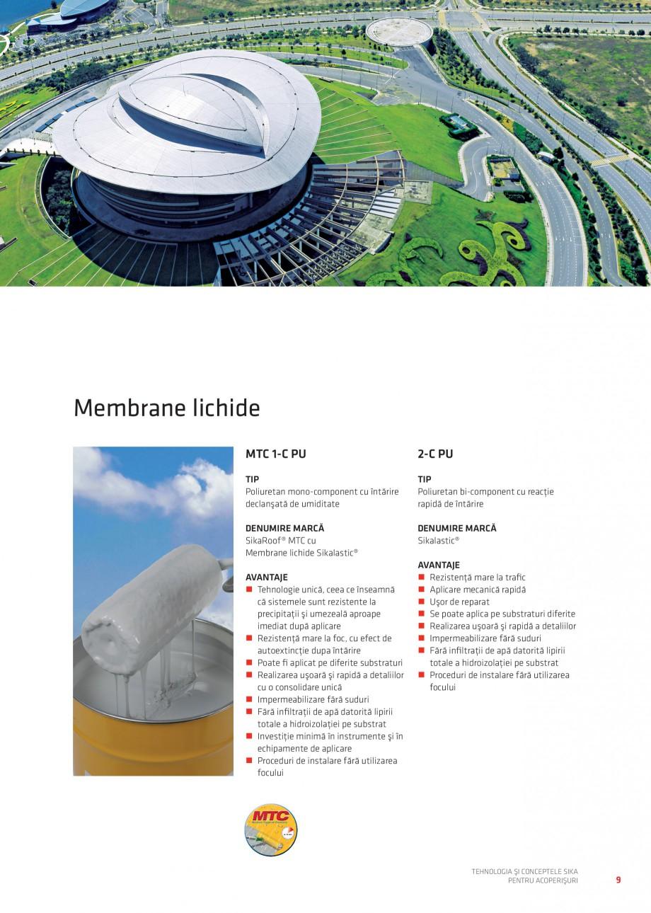 Pagina 9 - Tehnologia si conceptele Sika pentru acoperisuri SIKA Sarnafil® TG 66-18,...