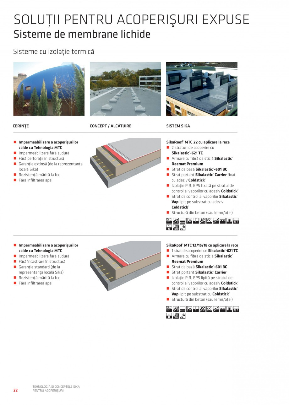 Pagina 21 - Tehnologia si conceptele Sika pentru acoperisuri SIKA Sarnafil® TG 66-18,...
