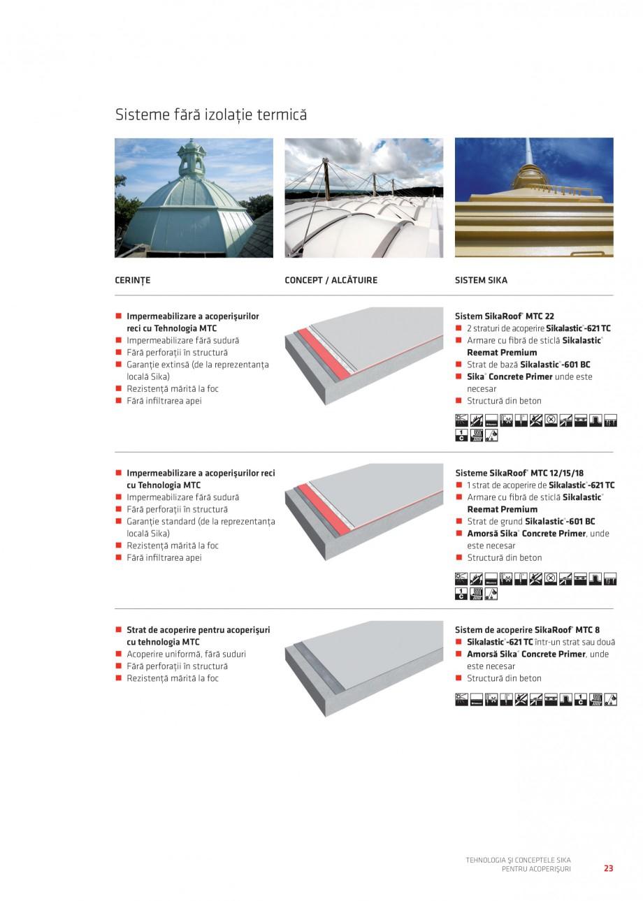 Pagina 22 - Tehnologia si conceptele Sika pentru acoperisuri SIKA Sarnafil® TG 66-18,...
