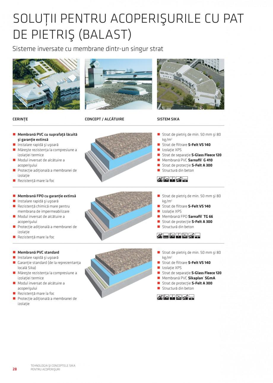Pagina 27 - Tehnologia si conceptele Sika pentru acoperisuri SIKA Sarnafil® TG 66-18,...