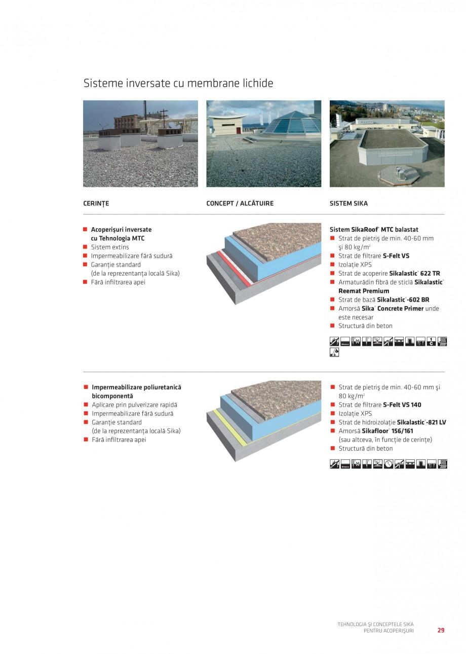 Pagina 28 - Tehnologia si conceptele Sika pentru acoperisuri SIKA Sarnafil® TG 66-18,...