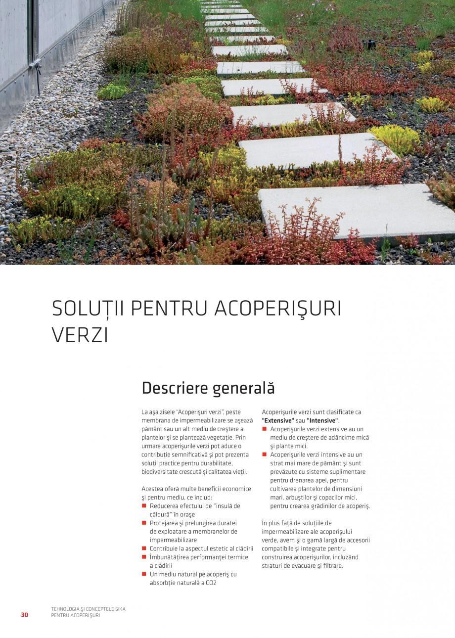 Pagina 29 - Tehnologia si conceptele Sika pentru acoperisuri SIKA Sarnafil® TG 66-18,...