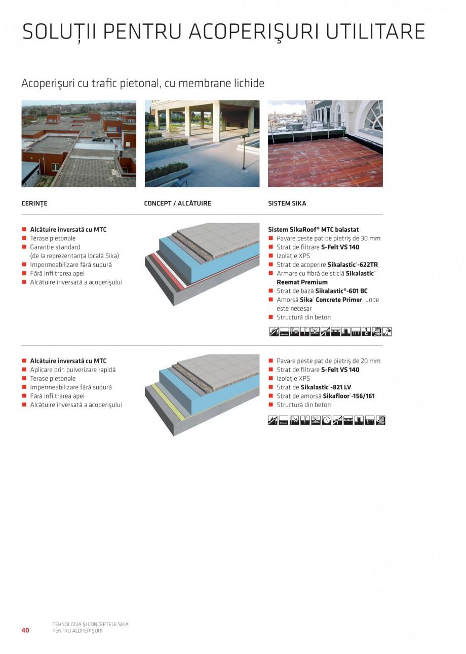 Pagina 39 - Tehnologia si conceptele Sika pentru acoperisuri SIKA Sarnafil® TG 66-18,...