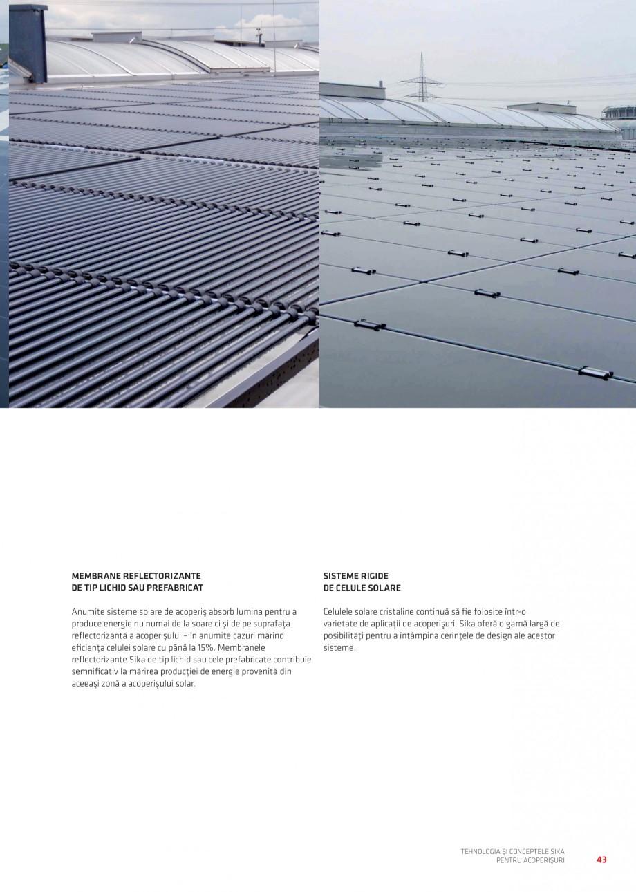 Pagina 42 - Tehnologia si conceptele Sika pentru acoperisuri SIKA Sarnafil® TG 66-18,...