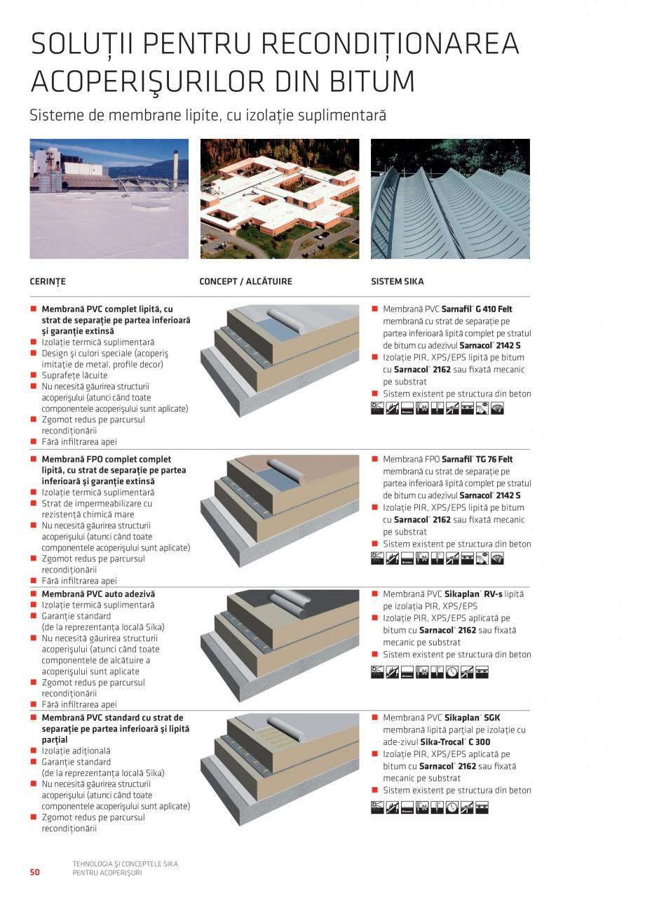 Pagina 49 - Tehnologia si conceptele Sika pentru acoperisuri SIKA Sarnafil® TG 66-18,...