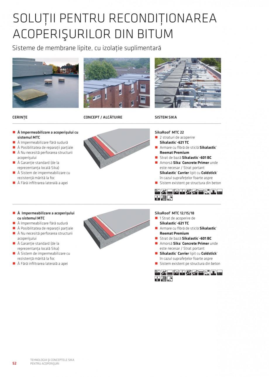Pagina 51 - Tehnologia si conceptele Sika pentru acoperisuri SIKA Sarnafil® TG 66-18,...