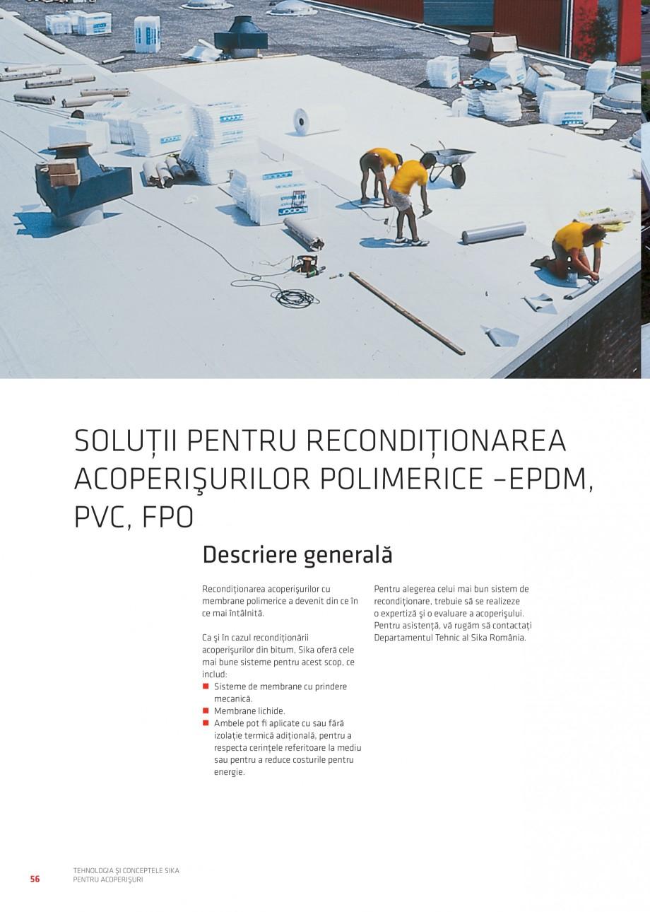 Pagina 55 - Tehnologia si conceptele Sika pentru acoperisuri SIKA Sarnafil® TG 66-18,...