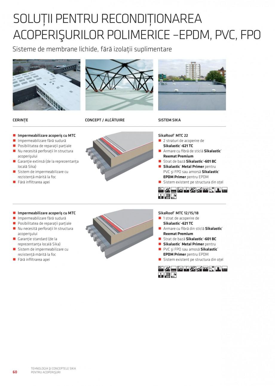 Pagina 59 - Tehnologia si conceptele Sika pentru acoperisuri SIKA Sarnafil® TG 66-18,...