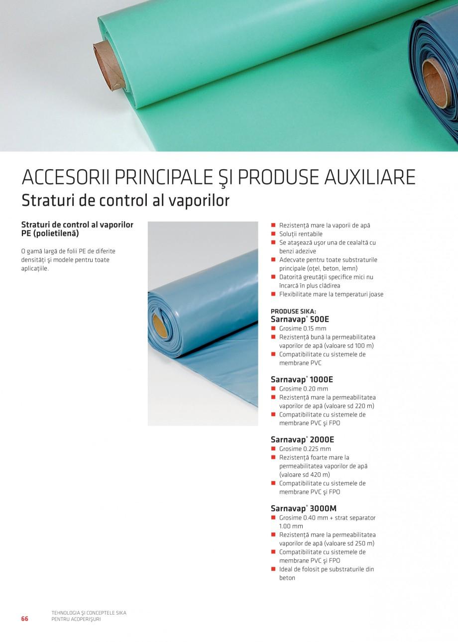 Pagina 65 - Tehnologia si conceptele Sika pentru acoperisuri SIKA Sarnafil® TG 66-18,...