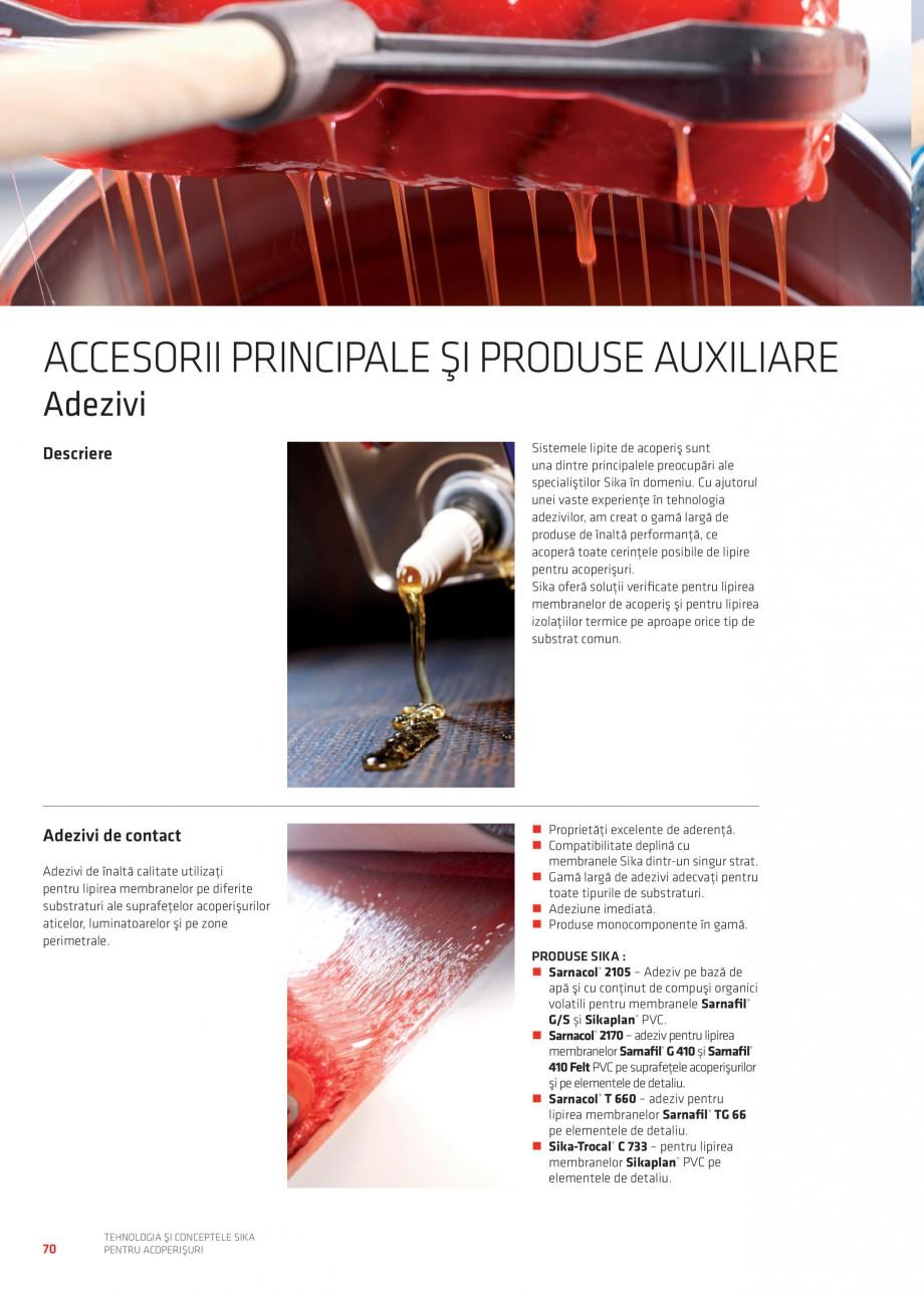 Pagina 69 - Tehnologia si conceptele Sika pentru acoperisuri SIKA Sarnafil® TG 66-18,...