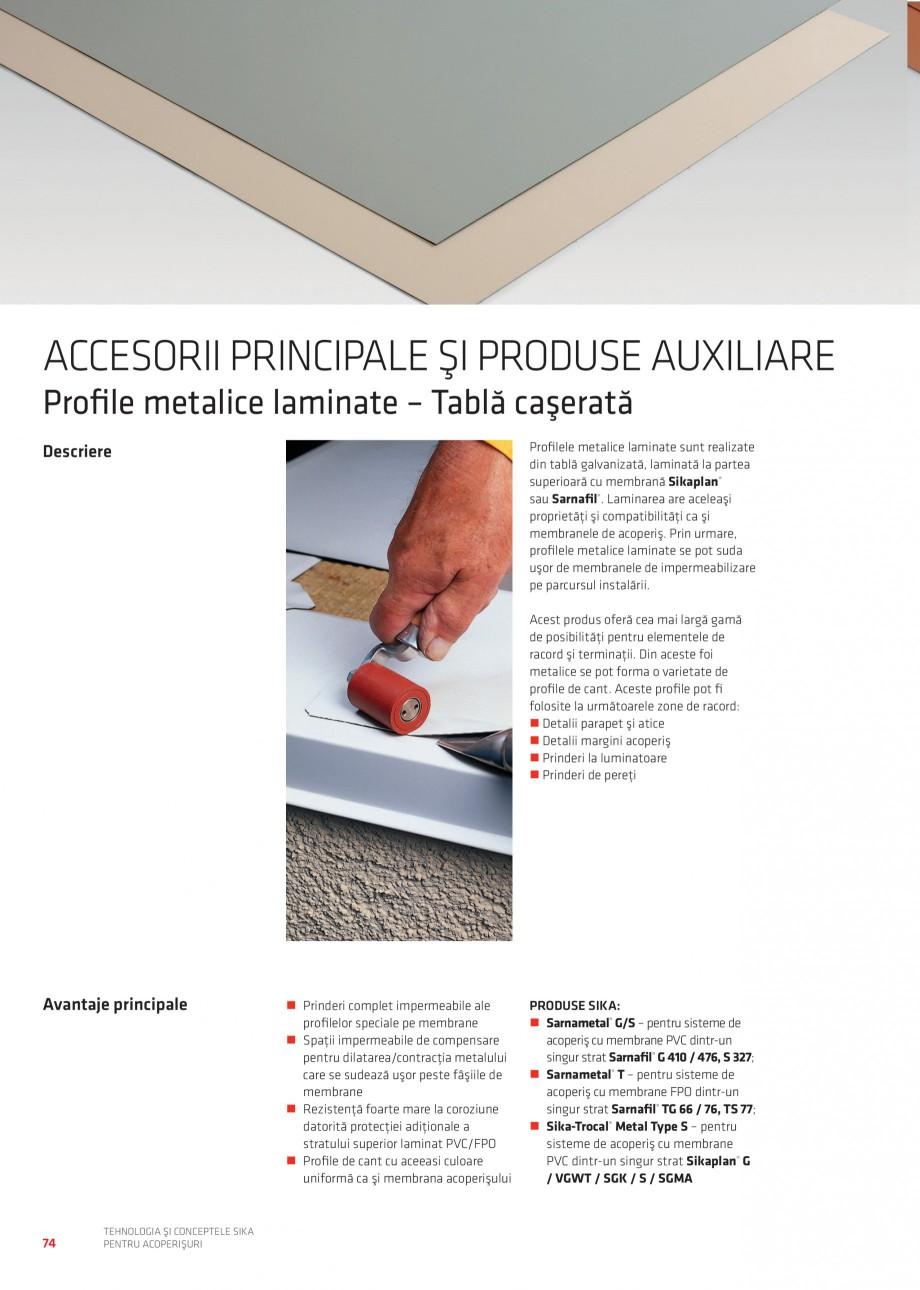Pagina 73 - Tehnologia si conceptele Sika pentru acoperisuri SIKA Sarnafil® TG 66-18,...