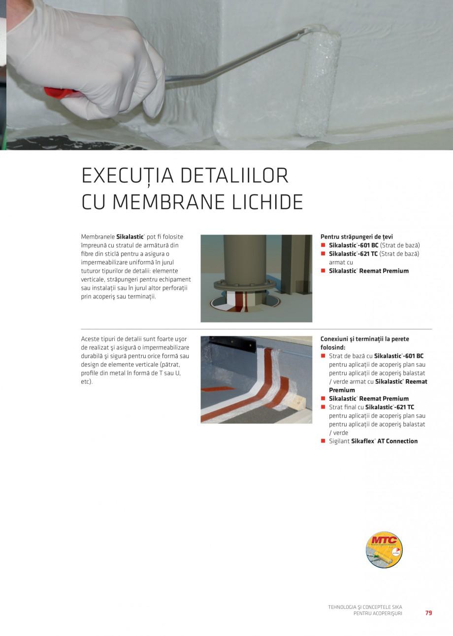 Pagina 78 - Tehnologia si conceptele Sika pentru acoperisuri SIKA Sarnafil® TG 66-18,...