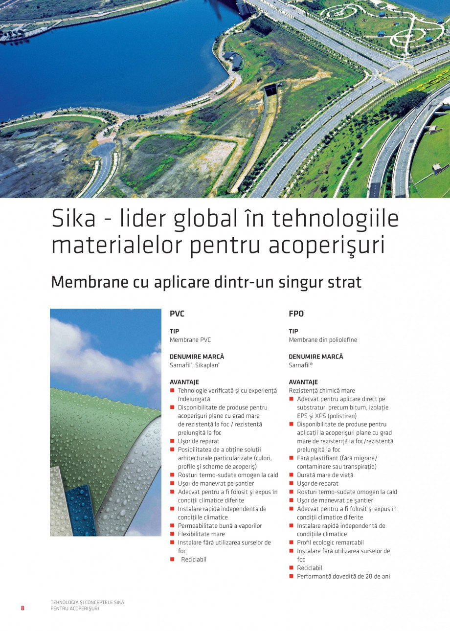 Pagina 80 - Tehnologia si conceptele Sika pentru acoperisuri SIKA Sarnafil® TG 66-18,...