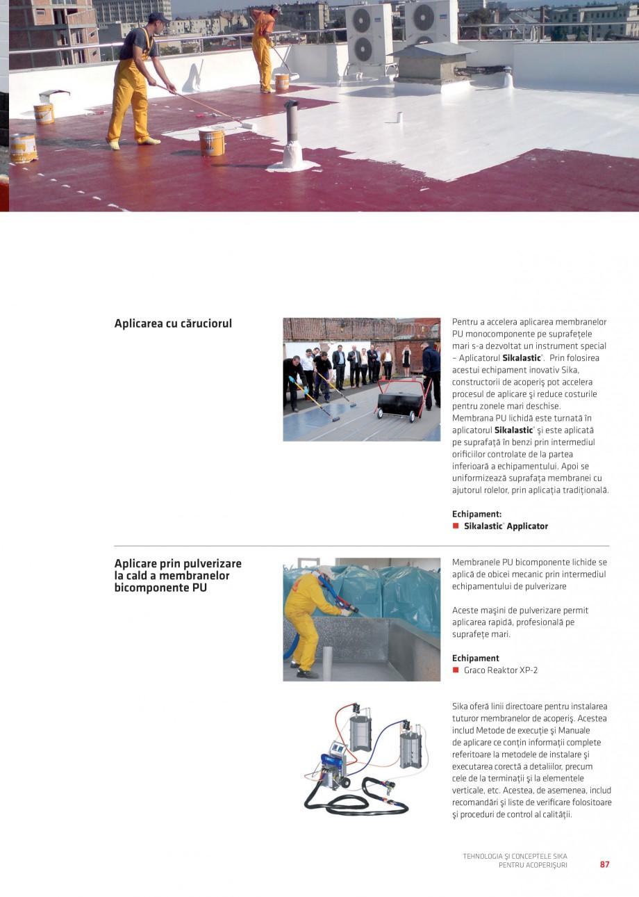 Pagina 87 - Tehnologia si conceptele Sika pentru acoperisuri SIKA Sarnafil® TG 66-18,...
