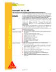 Membrana polimerica pentru impermeabilizarea acoperisurilorsarnafil SIKA - Sarnafil® TS 77-15