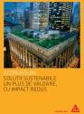 Acoperisuri - Solutii sustenabile un plus de valoare, cu impact redus